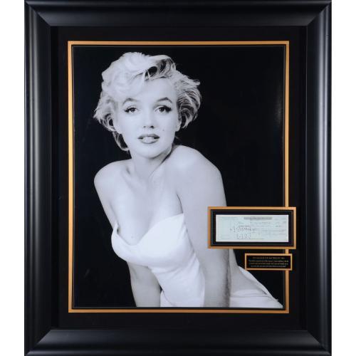 Marilyn Monroe Autographed Cut Signature - PSA/DNA