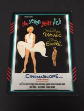 Marilyn Monroe Carolyn Jones 2011 Panini Americana Rare Movie Poster Duel Relic