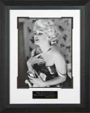 "Marilyn Monroe 'Chanel No. 5"" Framed 16x20 Photo"