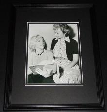 Marilyn Monroe & drama coach Natasha Lytess Framed 11x14 Photo Display