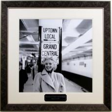 Marilyn Monroe Gallery Photo at Grand Central Station Framed