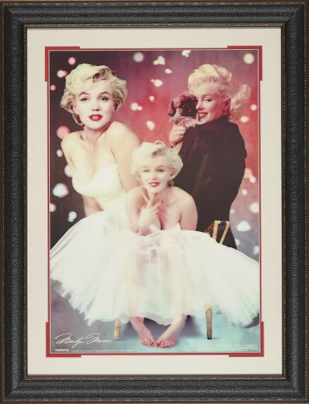 Marilyn Monroe Hologram Collage Framed 27 215 35