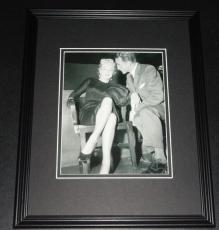Marilyn Monroe & Irving Stein in court Framed 11x14 Photo Display