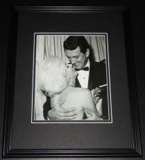 Marilyn Monroe & Rock Hudson Framed 11x14 Photo Display
