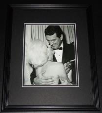 Marilyn Monroe & Rock Hudson Framed 11x14 Photo Display