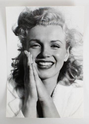 Marilyn Monroe Original Photo Used On Her First International Cover