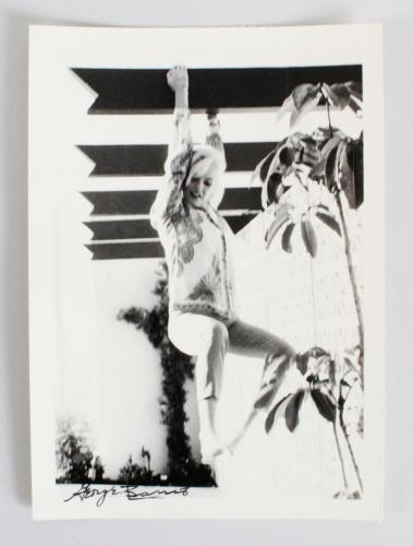 Marilyn Monroe Photo Signed George Barris 5×7-1962-Hanging From Ceiling