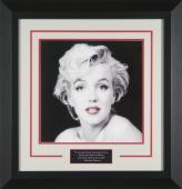 Marilyn Monroe 'Red Lips' by Milton Greene Framed
