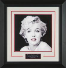 Marilyn Monroe 'Red Lips' by Milton Greene Framed