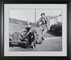 Marilyn Monroe & Sammy Davis Jr Photo 16x20 Framed