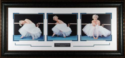 Marilyn Monroe 'Ballerina' Triptych by Milton Gree