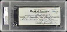 Marilyn Monroe Signed Autographed 1953 HAND WRITTEN Bank Check PSA/DNA 9!
