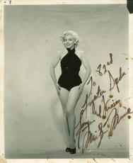 Marilyn Monroe Signed Autographed 8x10 Photograph to Korea Troops! PSA/DNA