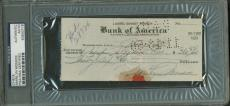 Marilyn Monroe Signed Autographed Hand Written 1950 Phone Bill Check PSA/DNA
