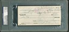 Marilyn Monroe Signed Autographed Hand Written 1953 Bank Check PSA/DNA Authentic