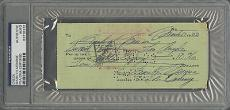 Marilyn Monroe Signed Autographed & Hand written 1953 Check PSA/DNA