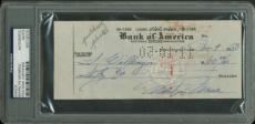 Marilyn Monroe Signed Autographed HANDWRITTEN 1950 Bank Check PSA/DNA