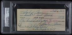 Marilyn Monroe Signed Autographed & Handwritten 1953 Check PSA/DNA