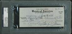 Marilyn Monroe Signed Autographed & HANDWRITTEN Check MINT 9 PSA/DNA