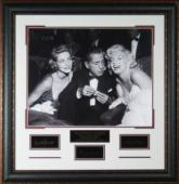 Marilyn Monroe unsigned Hollywood Legends Engraved Series 30x30 Leather Framed Photo (movie/entertainment)