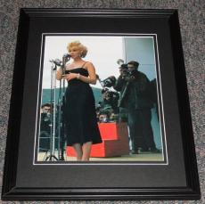 Marilyn Monroe USO Framed 11x14 Photo Display