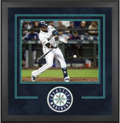 "Seattle Mariners Deluxe 16"" x 20"" Horizontal Photograph Frame - Mounted Memories"