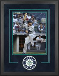 "Seattle Mariners Deluxe 16"" x 20"" Vertical Photograph Frame - Mounted Memories"