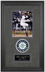 "Seattle Mariners Deluxe 8"" x 10"" Team Logo Frame - Mounted Memories"