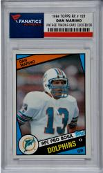 Dan Marino Miami Dolphins 1984 Topps #123 Rookie Card - Mounted Memories