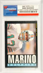Dan Marino Miami Dolphins 1985 Topps #314 Card - Mounted Memories