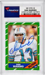 Dan Marino Miami Dolphins Autographed 1986 Topps #45 Card