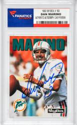 Dan Marino Miami Dolphins Autographed 1992 Skybox #150 Card