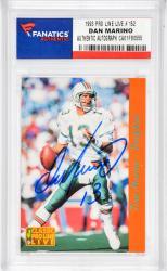 Dan Marino Miami Dolphins Autographed 1993 Pro Line Live #152 Card