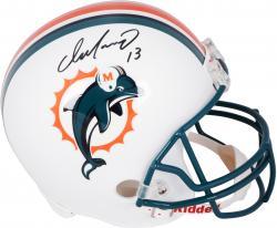 Dan Marino Miami Dolphins Autographed Riddell Replica Helmet