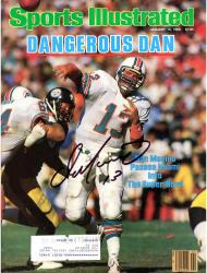 Dan Marino Miami Dolphins Autographed Sports Illustrated Dangerous Dan Magazine