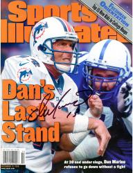 Dan Marino Miami Dolphins Autographed Sports Illustrated Last Stand Magazine - Mounted Memories