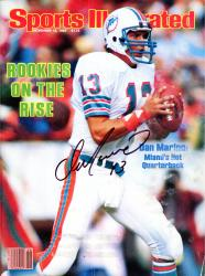 Dan Marino Miami Dolphins Autographed Sports Illustrated Rookie Rise Magazine - Mounted Memories