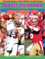 Dan Marino Miami Dolphins Autographed Sports Illustrated Super Shoot Out Magazine - Mounted Memories