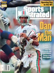 Dan Marino Miami Dolphins Autographed Sports Illustrated The Man Magazine - Mounted Memories