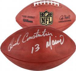 Daniel Constantine Marino Miami Dolphins Autographed Duke Pro Football