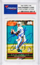 Dan Marino Miami Dolphins Autographed 2005 Upper Deck Legends #92 Card -