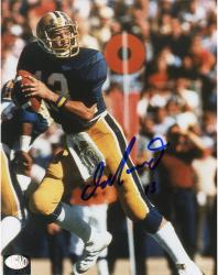 Dan Marino Autographed Pittsburgh Panthers 8x10 Photo