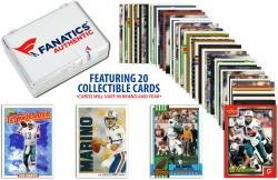 Dan Marino Miami Dolphins Collectible Lot of 20 NFL Trading Cards