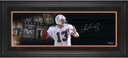"Dan Marino Miami Dolphins Framed Autographed 10"" x 30"" Filmstrip Photograph-#2-12 or #14-24 of a Limited Edition of 24"