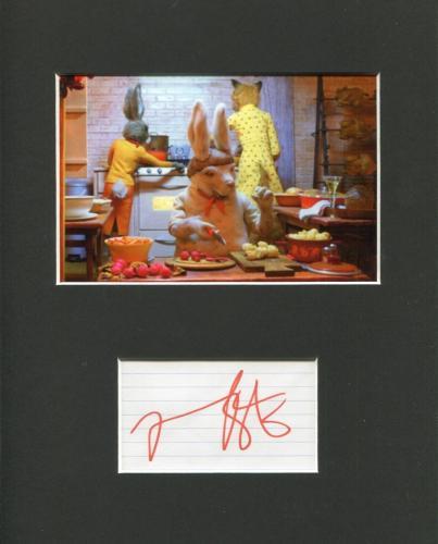 Mario Batali Iron Chef The Chew Fantastic Mr. Fox Signed Autograph Photo Display
