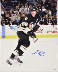 "Pittsburgh Penguins Mario Lemieux Autographed 16"" x 20"" Photo ----"