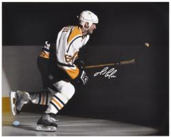 Mario Lemieux Pittsburgh Penguins Autographed 16'' x 20'' Photo - Mounted Memories