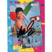 Mario Lopez Autographed 1992 NBC Card