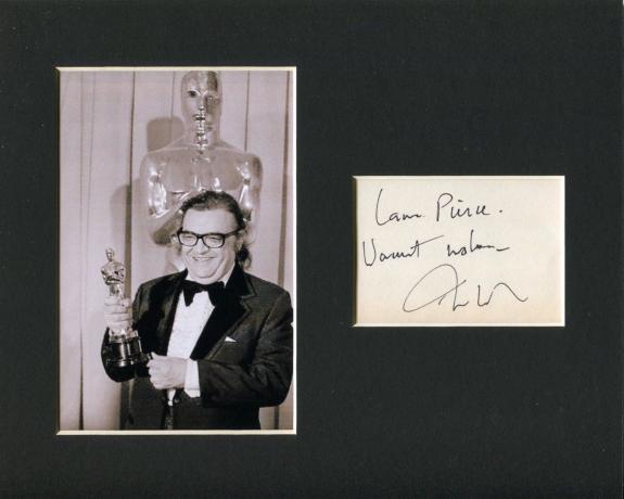 Mario Puzo The Godfather Author Winner Display