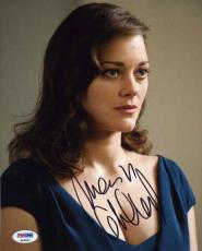 Marion Cotillard Batman Autograph Signed 8x10 Photo Certified Authentic PSA/DNA
